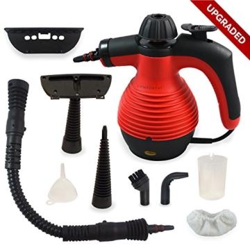 ALL IN ONE Comforday DAMPFREINIGER Steam Cleaner für Boden, Fenster, Autositze, Arbeitsflächen, Mülleimer, Kühlschrank, Schneidebretter, Badezimmer, Polster, Matratze, Vorhänge, Teppiche u. KatzenWC - 1