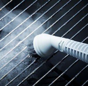 Aqua Laser Gold - Premium Dampfbesen Dampfreiniger mit kraftvollen 1500W und integriertem Handdampfreiniger - Hygienische und gründliche Sauberkeit (weiß / schwarz) - 5