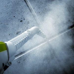 Aqua Laser Gold - Premium Dampfbesen Dampfreiniger mit kraftvollen 1500W und integriertem Handdampfreiniger - Hygienische und gründliche Sauberkeit (weiß / schwarz) - 6