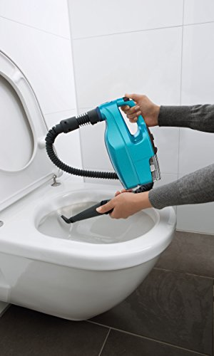 Dirt Devil DD302-0 AquaClean Dampfmopp und Handdampfreiniger (multifunktionsdampfreiniger, abnehmbarer, 10 verschiedene aufsätze, Steamboost) weiß / blau - 7
