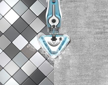 Dirt Devil DD302-0 AquaClean Dampfmopp und Handdampfreiniger (multifunktionsdampfreiniger, abnehmbarer, 10 verschiedene aufsätze, Steamboost) weiß / blau - 10